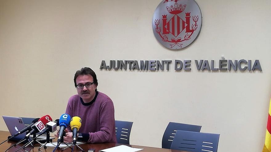 El concejal de Movilidad en el ayuntamiento de Valencia, Giuseppe Grezzi