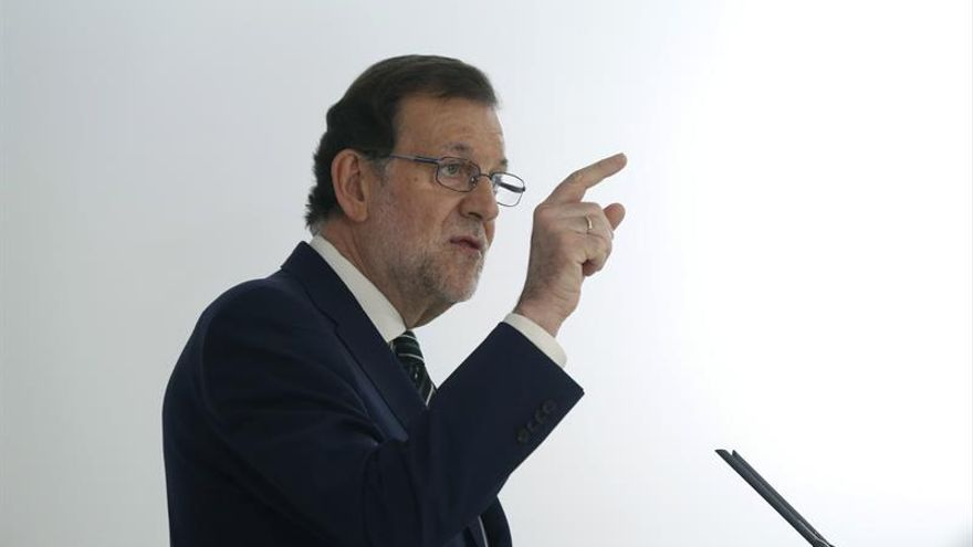 Mariano Rajoy, presidente del Gobierno en funciones y candidato del PP.