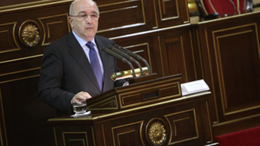 Vicepresidente de la Comisión Europea Joaquín Almunia