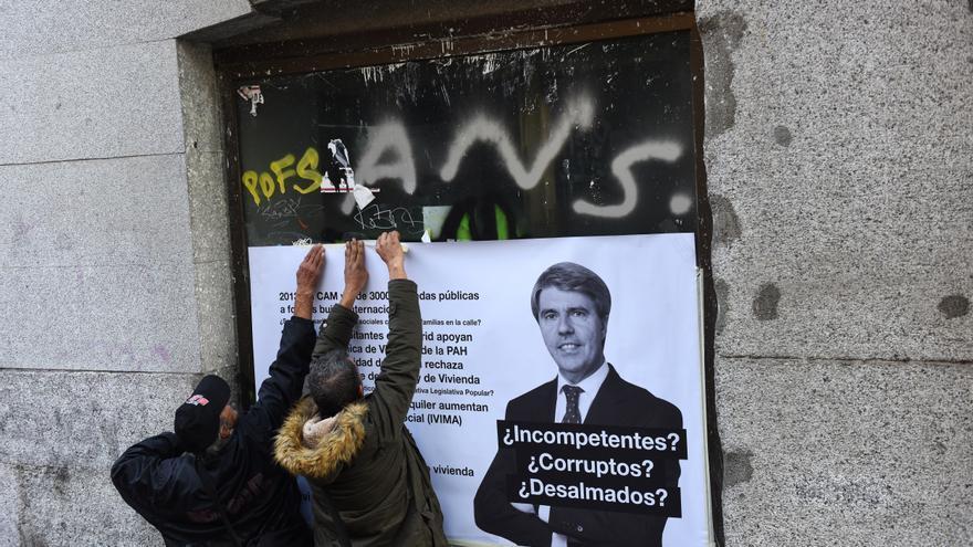 El Sindicato de Inquilinas denuncia que la Comunidad cuenta con más de 500 viviendas vacías para hinchar la burbuja del alquiler | Foto: FERNANDO SÁNCHEZ