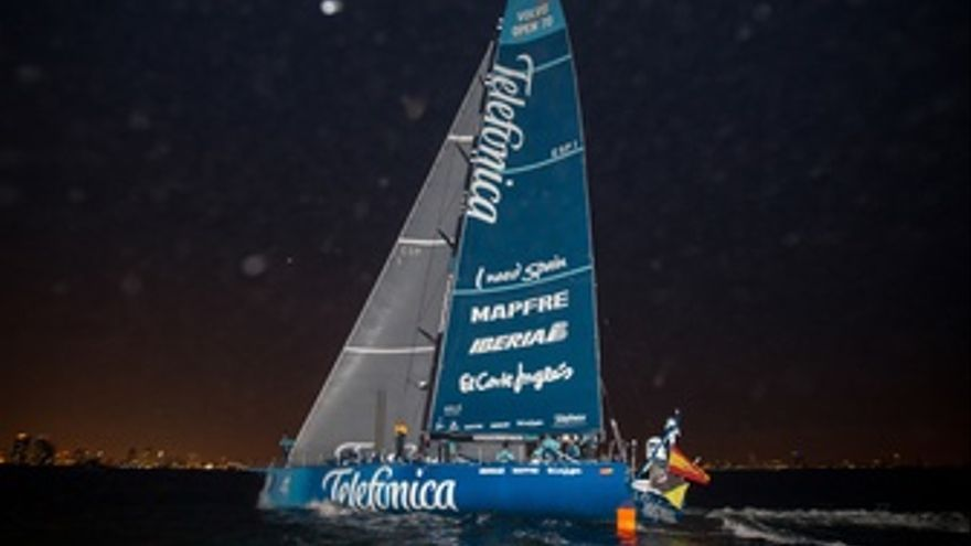 Barco Team Telefonica Volvo Ocean Race
