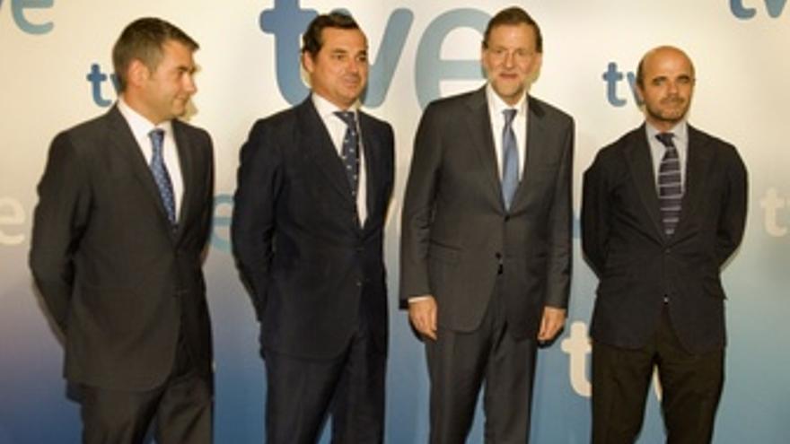 Rajoy en su primera entrevista en TVE como presidente