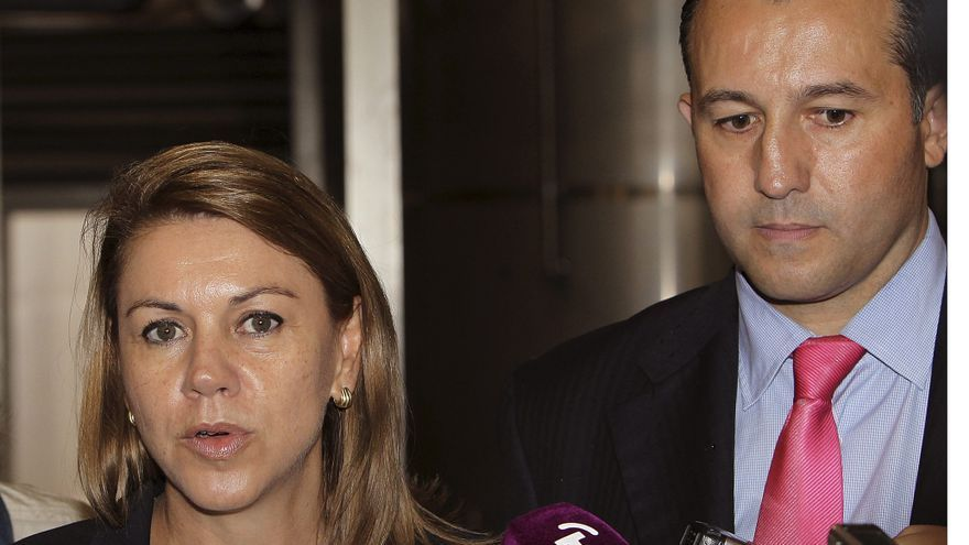 Cospedal asegura que las manifestaciones y el debate catalán dan una imagen irreal de fractura