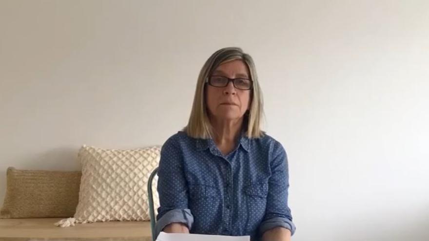 Alicia Joaquinet es la portavoz de la familia propietaria de la finca de la Roca de Troc