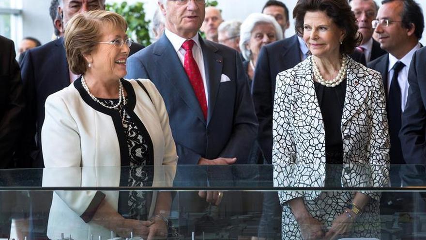 Bachelet cierra su estancia en Suecia con la agenda empresarial y medioambiental