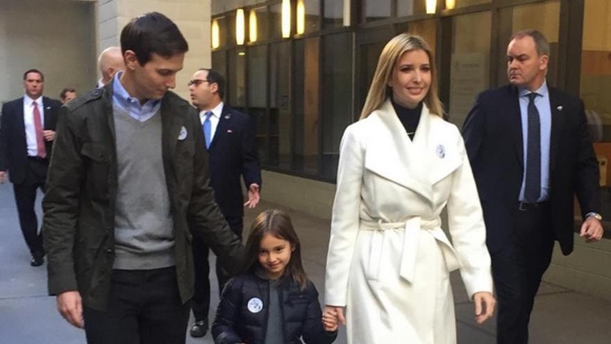 Ivanka Trump y Jared Kushner en una imagen del Instagram de la hija de Trump // Instagram