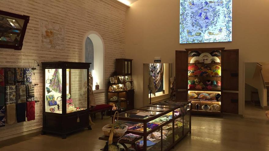 Otro de los salones del Museo de la Seda