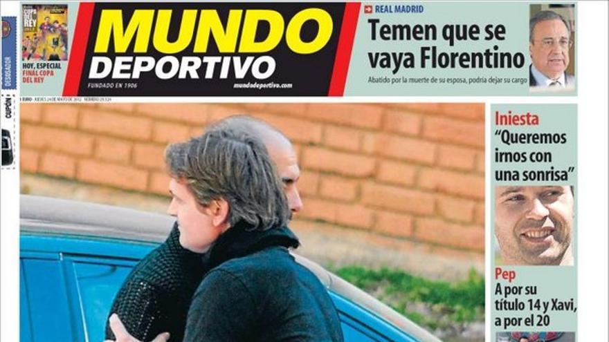 De las portadas del día (24/05/2012) #14