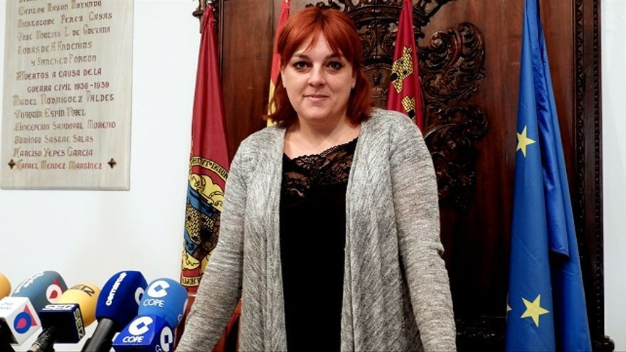 Gloria Martín, de IU-Verdes Lorca