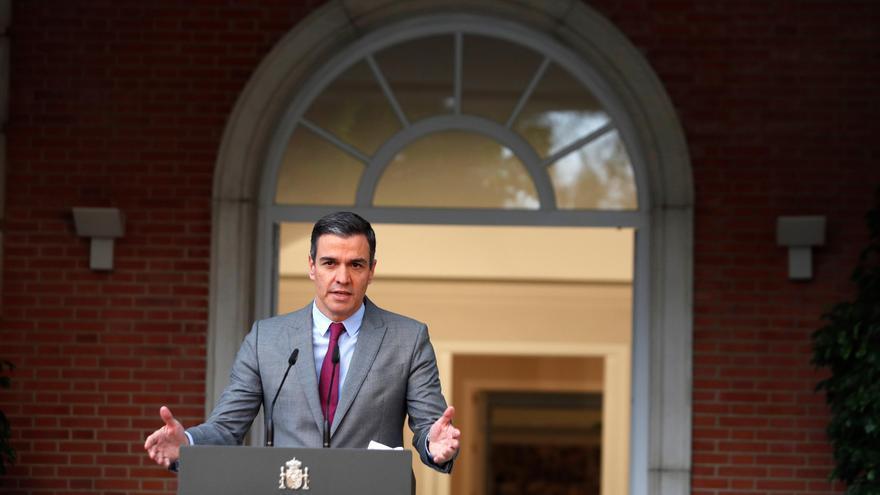 El presidente del Gobierno, Pedro Sánchez. EFE/Emilio Naranjo