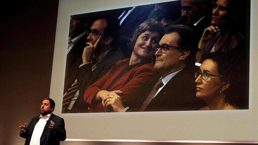 Junqueras rechaza la candidatura unitaria propuesta por Mas