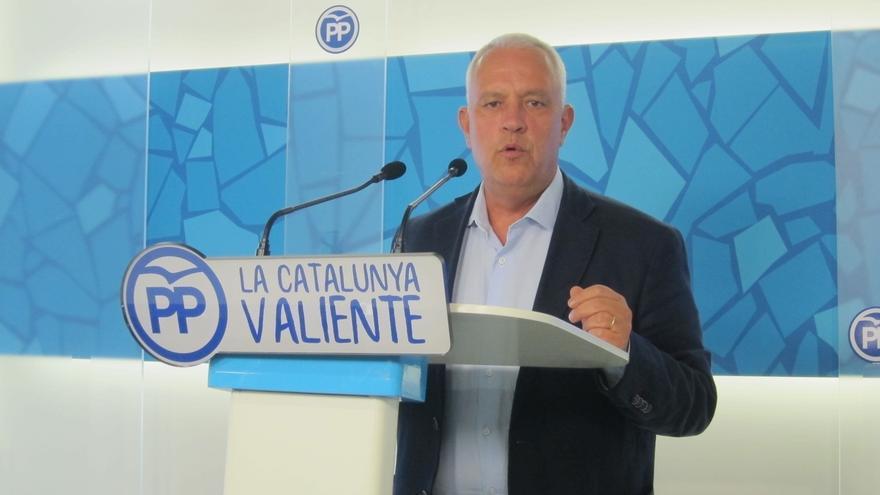 """El PP catalán: el Estado """"tiene el derecho y el deber de actuar en defensa del Estado de Derecho"""""""