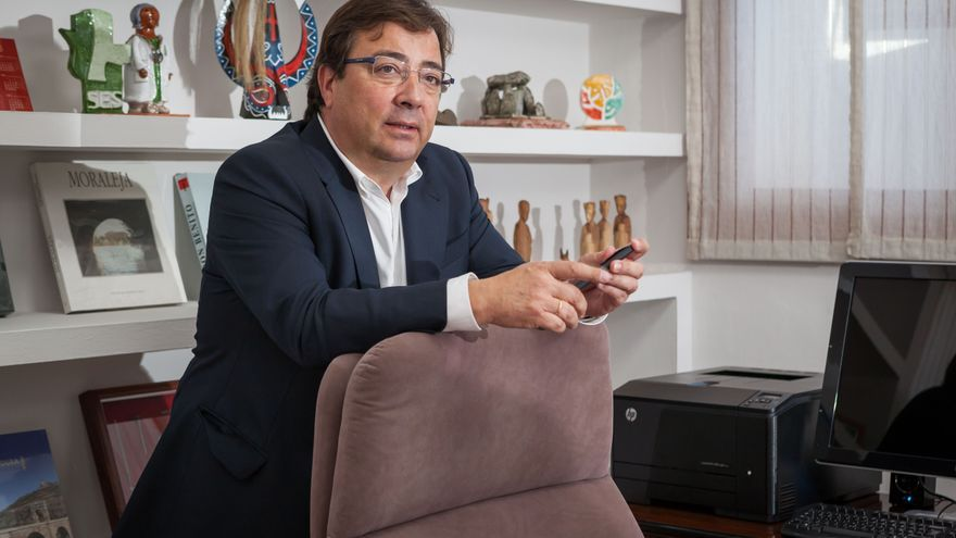 Guillermo Fernández Vara presidente Junta Extremadura