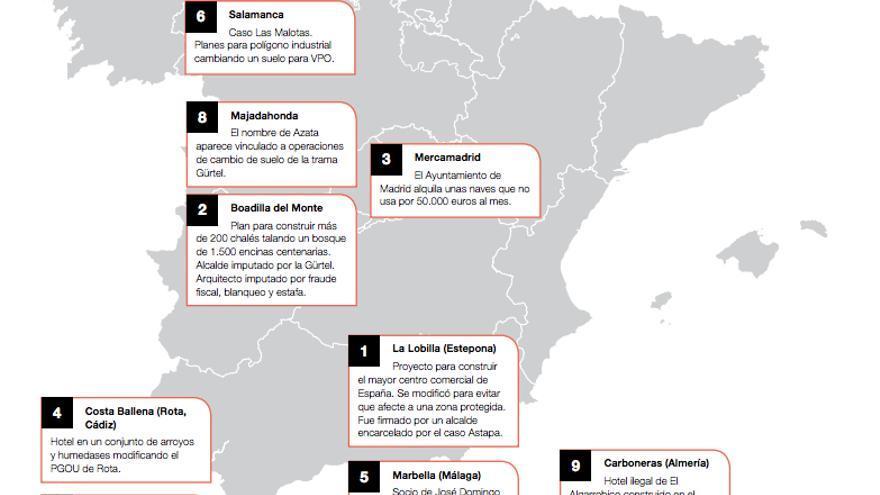 """""""Azata del Sol, un dudoso historial"""" / Infografía de Greenpeace"""