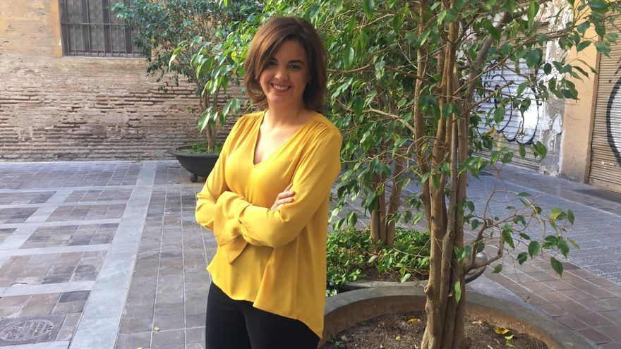 La portavoz del grupo municipal socialista en el Ayuntamiento de València, Sandra Gómez