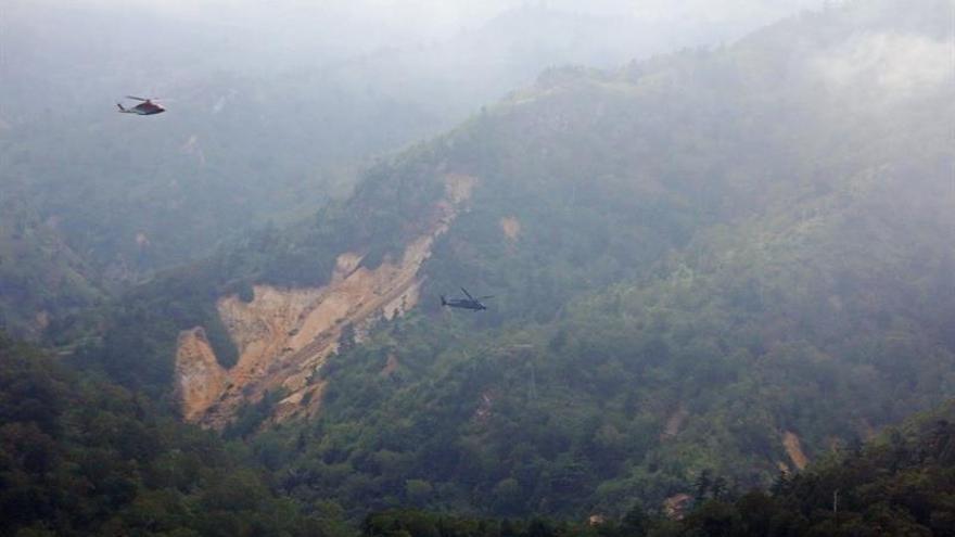 Confirman la muerte de los 9 ocupantes de un helicóptero accidentado en Japón