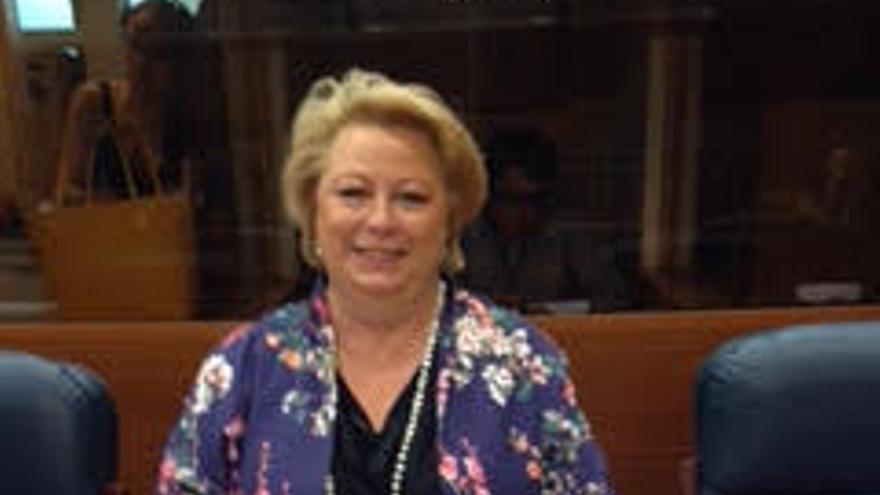 La diputada del PP en la Asamblea de Madrid, María José Aguado.