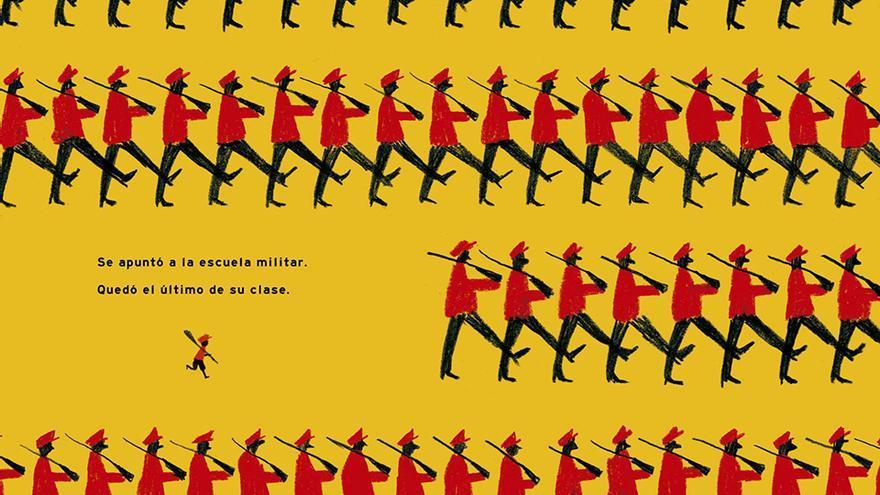 Ilustración de 'Frank', de Ximo Abadía