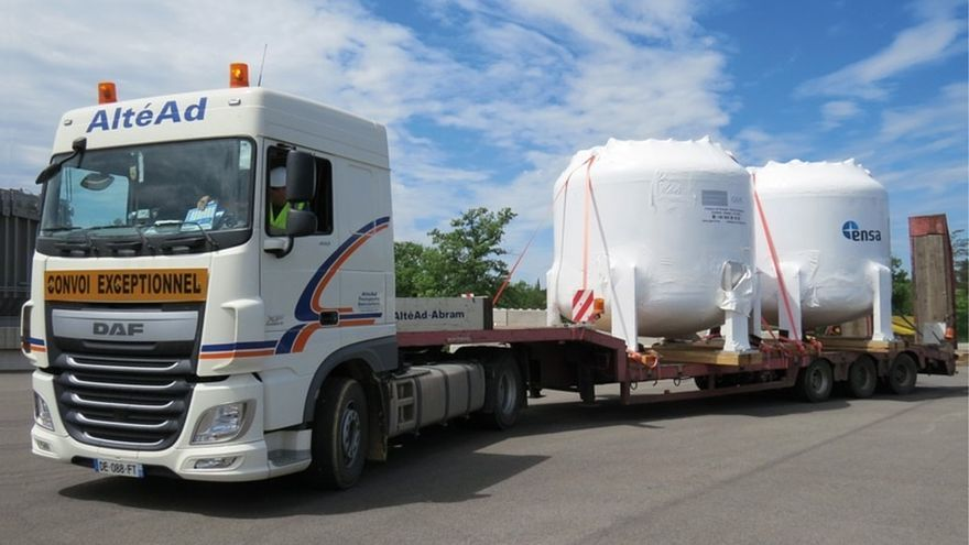 Equipos Nucleares, primera empresa europea que entrega un equipo finalizado del proyecto ITER