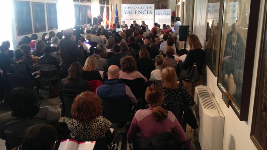 La Diputación de Valencia presenta su informe sobre los recursos contra la violencia de género