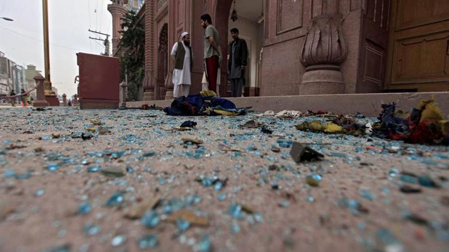 Once muertos y 40 heridos en un segundo atentado suicida esta jornada en Pakistán