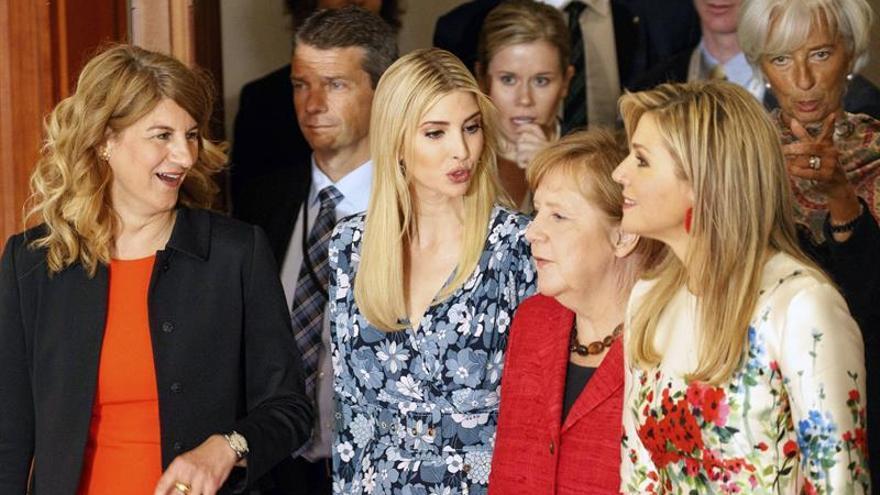 Merkel e Ivanka Trump se alían por la inclusión de las mujeres en el mundo económico