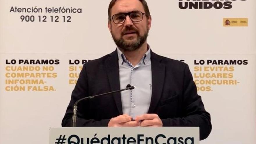 El alcalde de Lorca, Diego José Mateos