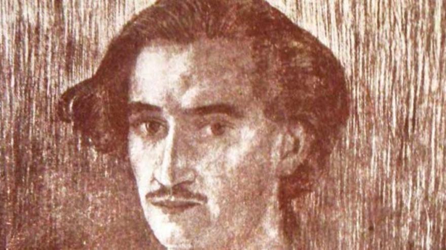 Pedro Bethencourt Padilla dibujado por José Aguiar