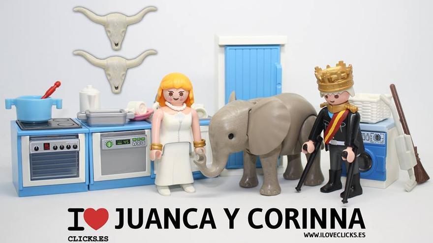 I love Juanca y Corinna