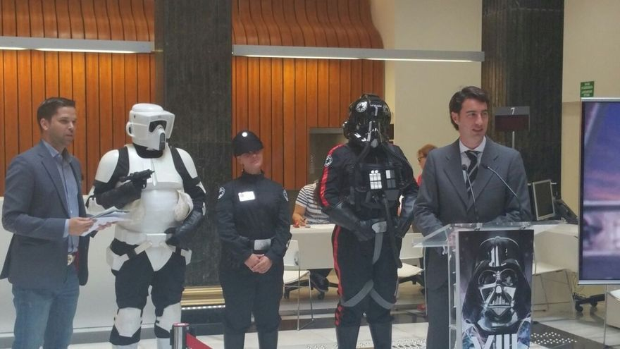 Darth Vader y sus tropas imperiales tomarán Bilbao este sábado con un espectacular desfile por la Gran Vía
