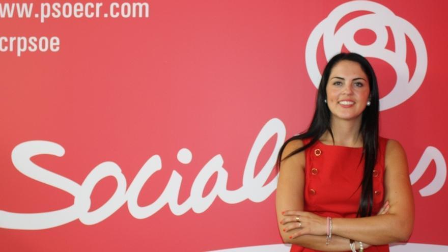 Irene Barahona, portavoz del PSOE en Moral de Calatrava (Ciudad Real)