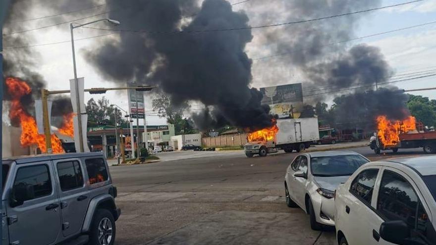 La presunta captura de hijo del Chapo en México desata violencia en Culiacán
