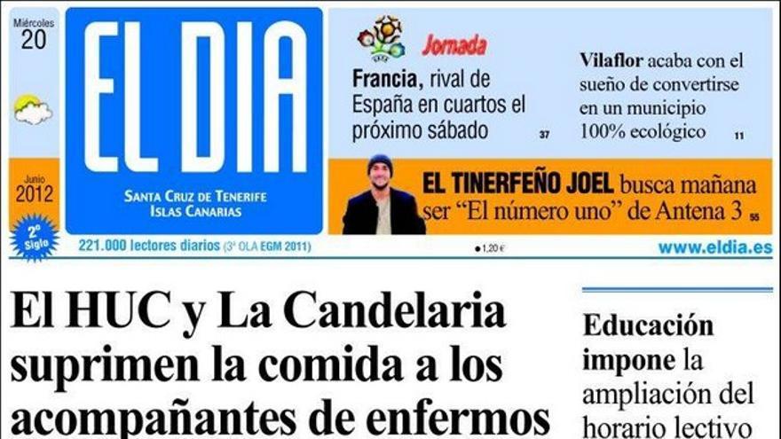 De las portadas del día (20/06/2012) #4