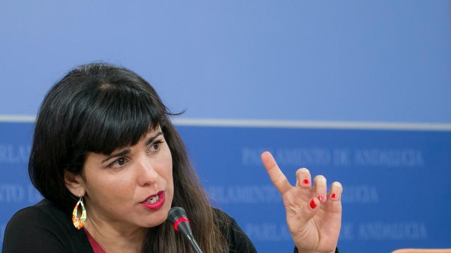 """Teresa Rodríguez: """"Deben dejar de caer profesionales para caer responsables de la mala gestión sanitaria"""""""