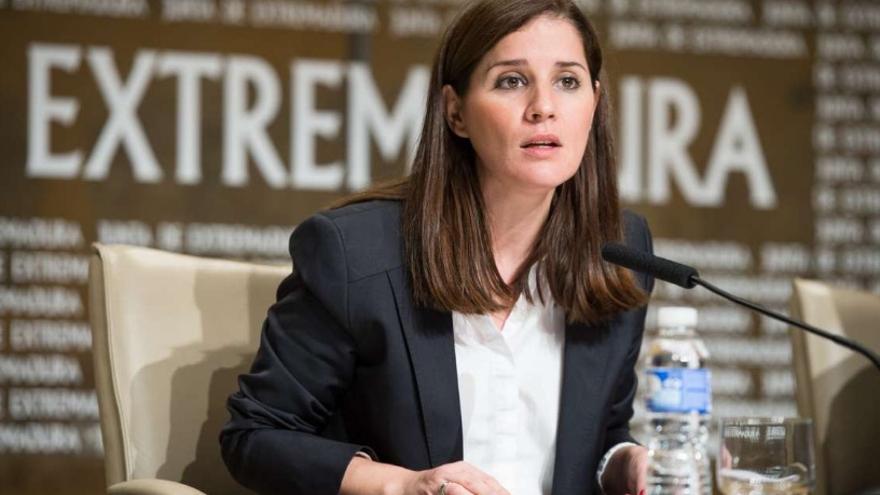 La portavoz del Ejecutivo extremeño Isabel Gil Rosiña / Junta