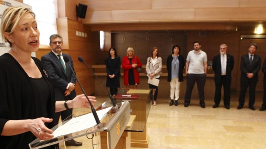 La consejera de Economía del Gobierno de Aragón, Marta Gastón,