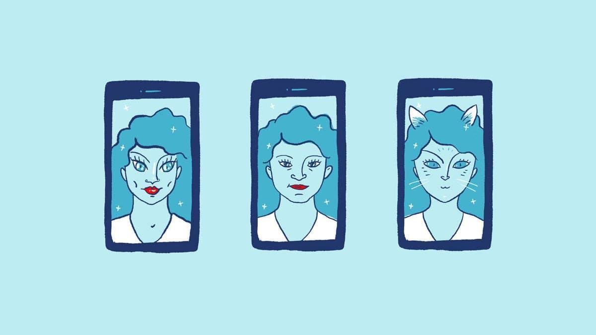 La distorsión en la autopercepción de la imagen corporal.