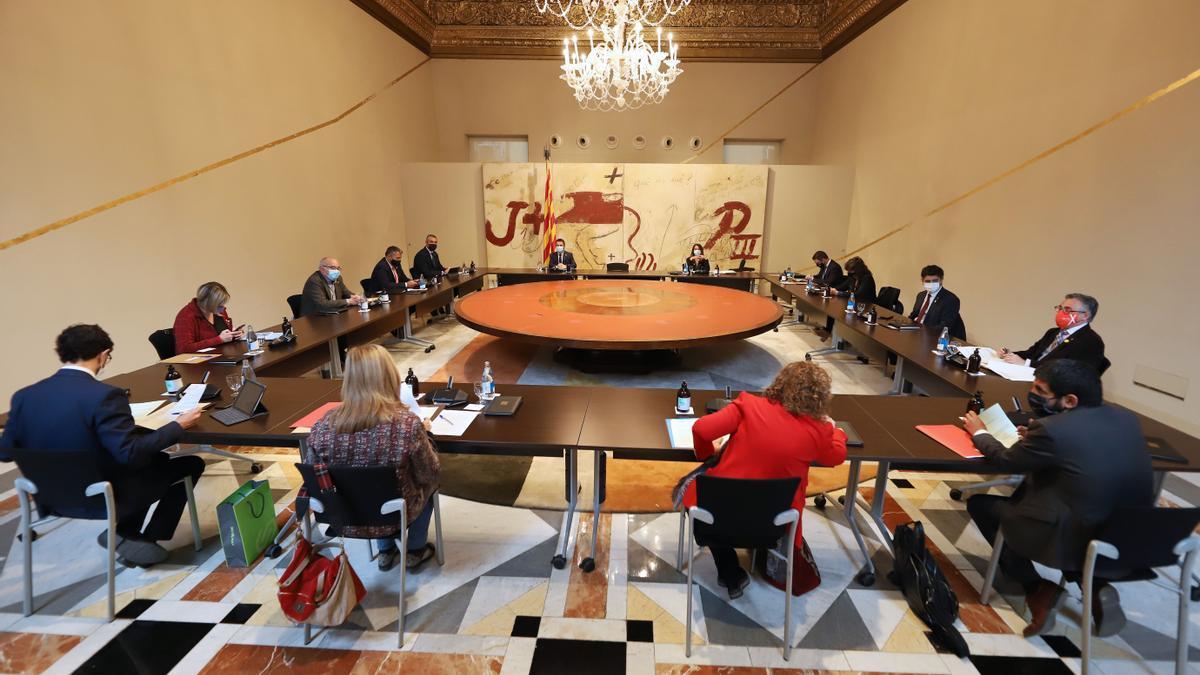 Reunió del Consell Executiu