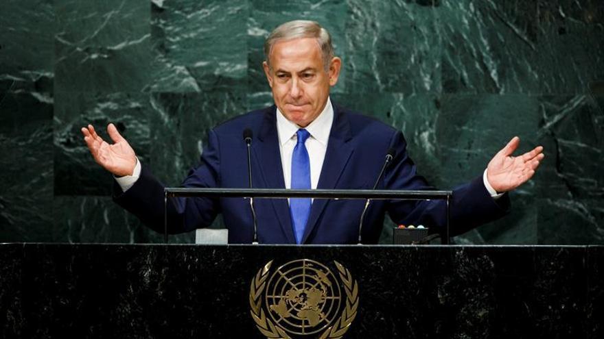 """Netanyahu dice que la ONU se ha convertido en una """"farsa moral"""""""