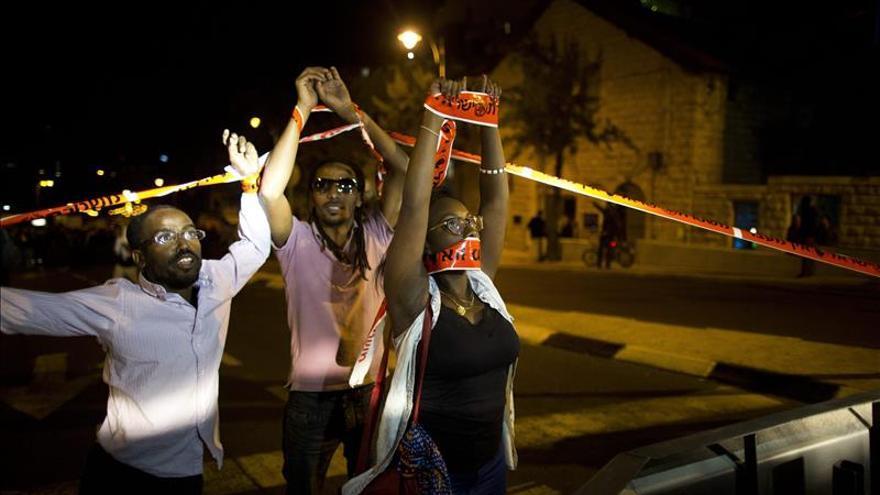 La comunidad etíope vuelve a la carga en Tel Aviv en protesta antirracista