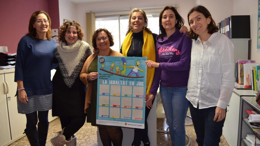El calendario elaborado por el departamento de Igualdad del ayuntamiento de Castellón