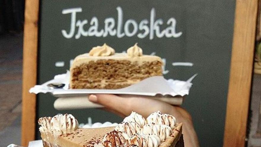 Tarta Capuccino de Txarloska. Foto: lavitaevegan