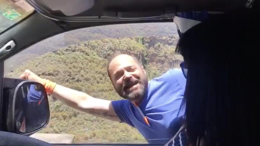 Juan Miguel Pérez Artiles, candidato de Ciudadanos a la Alcaldía de Firgas.