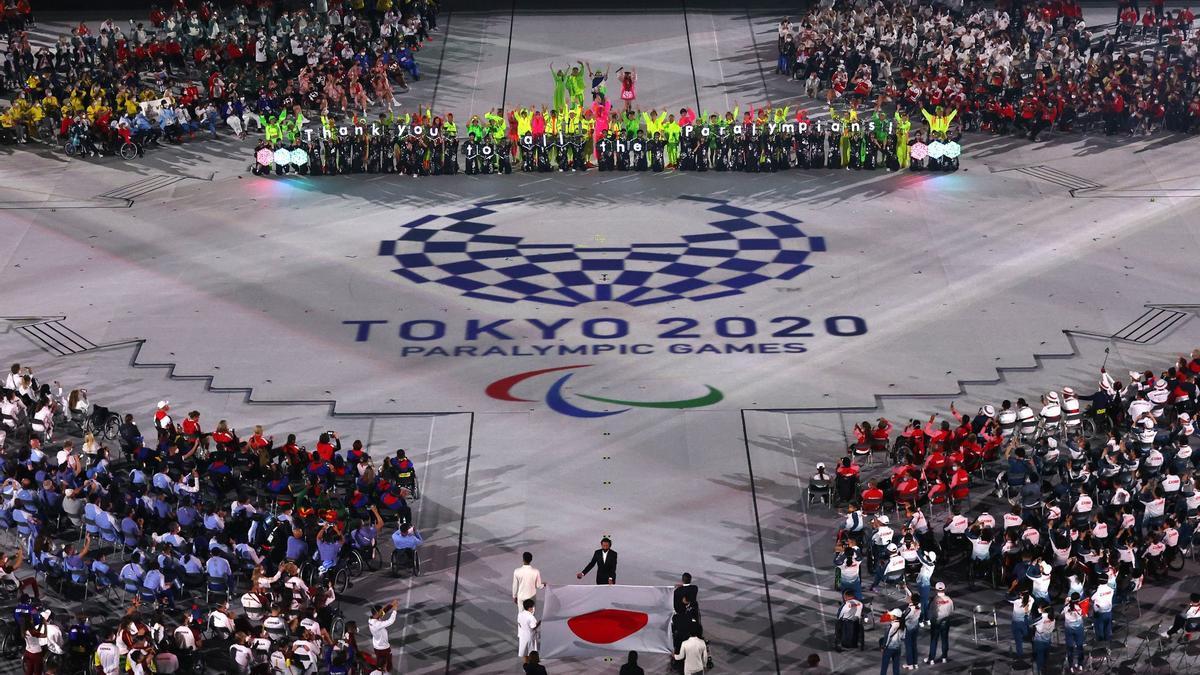 Ceremonia de clausura de los Juegos Paralímpicos de Tokio 2020