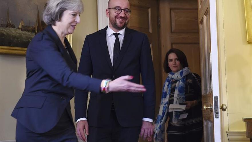 """El Reino Unido y Bélgica abogan por cooperar en seguridad tras el """"brexit"""""""