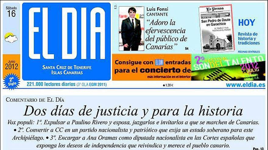 De las portadas del día (16/06/2012) #9