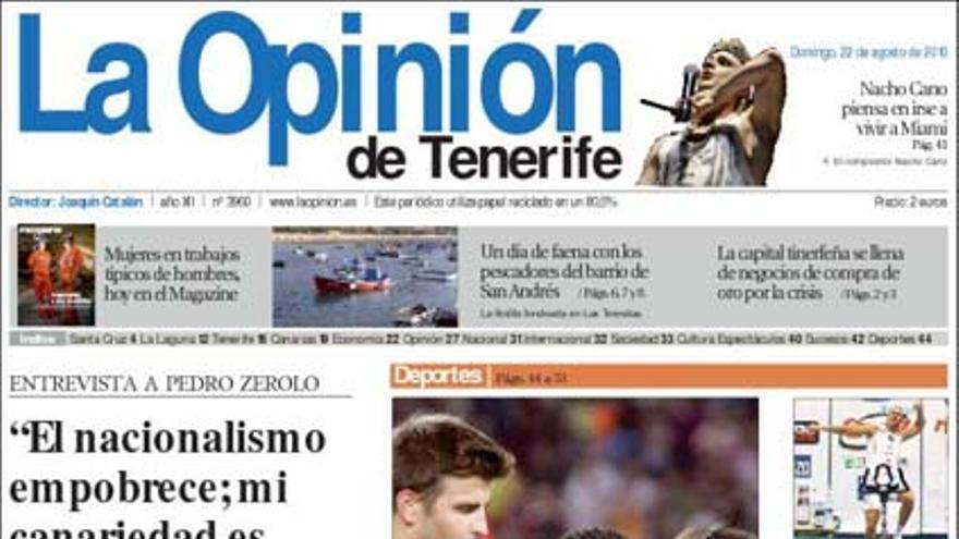 De las portadas del día (22/08/2010) #11