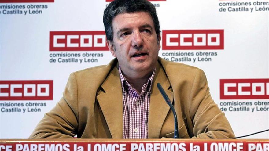 CCOO no estará en un pacto educativo si no se revierten recortes de la crisis