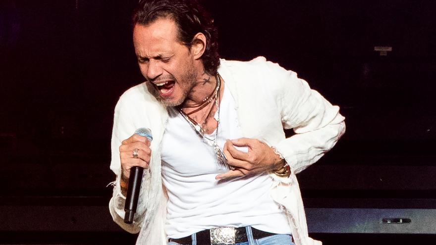 Marc Anthony se disculpa por no ofrecer concierto por fallo técnica