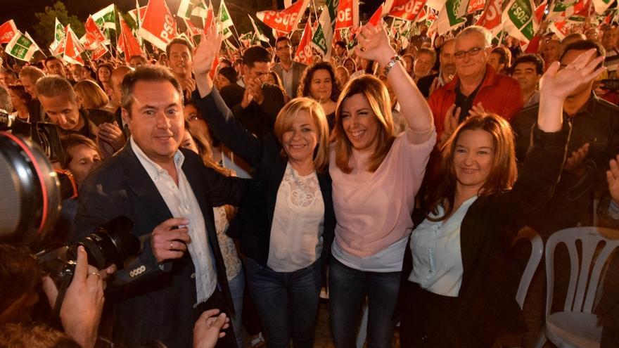 """Valenciano pide """"un no como una casa"""" para la derecha de Rajoy, """"sumisa"""" a Merkel"""